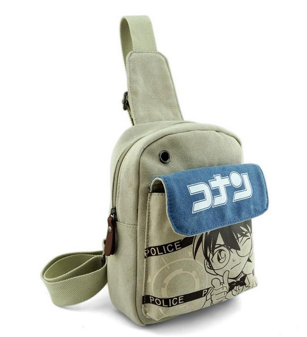 2018 Canvas Messenger Bag Cosplay Cartoon Chest Pack Attack on Titan/Tokyo Ghoul/Totoro/Kuroshitsuji Crossbody Bag