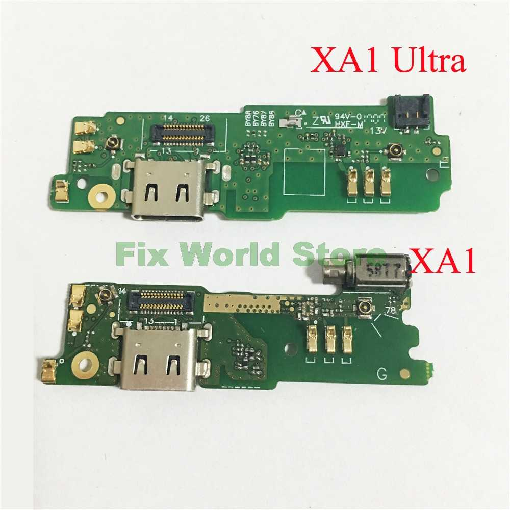 Charging Board For Sony Xperia XA, XA1, XA1 Ultra USB Charging Charger Port  Dock Connector Flex Cable Replacement Parts