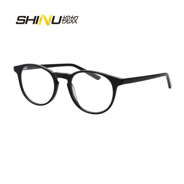 bdcc07416389 High End Ultra Thin Acetate Reading Glasses Fashion Progressive Multi Focal  Lens Reader For Near And Far Sight Gafas SH045