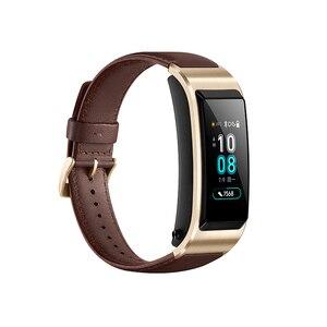Image 4 - Original banda de Huawei B5 pulsera inteligente con color de pantalla de salud impermeable pantalla táctil Bluetooth completamente táctil científica dormir