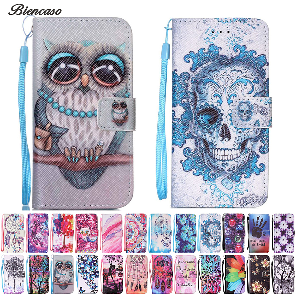 Owl Flower Pattern Wallet Flip Case for Samsung Galaxy A3