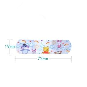 Image 4 - 50PCs/100PCs Waterproof Breathable Cute Cartoon Band Aid Hemostasis First Aid Emergency Kit Adhesive Bandages