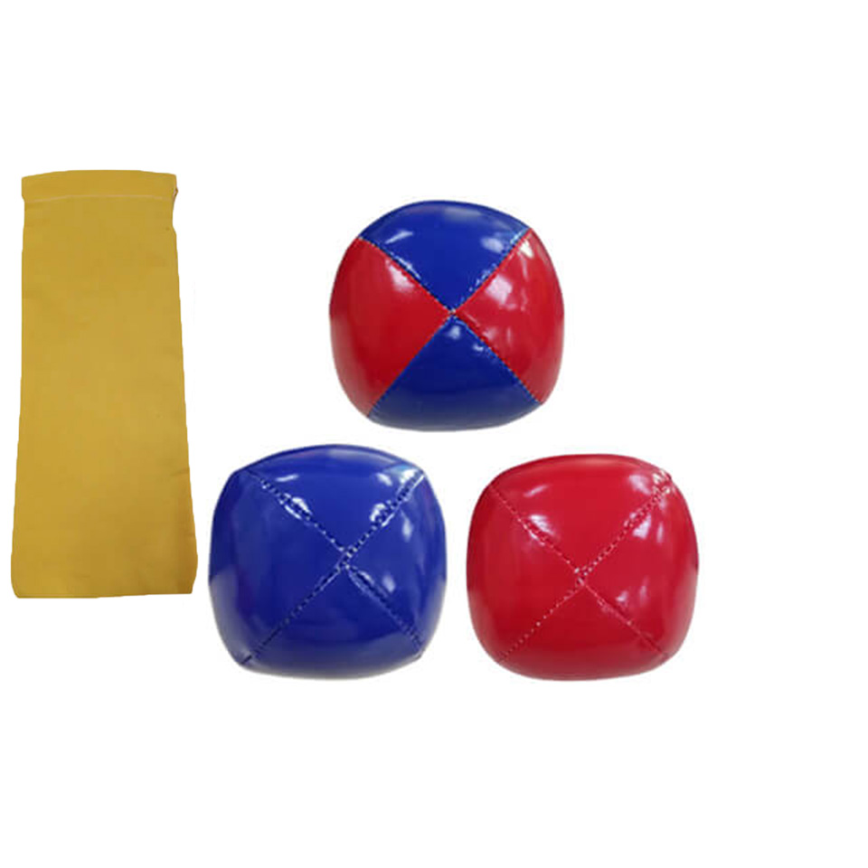 Games 4pcs Juggling Balls Set Fun Soft Classic Leather Juggle Beanbags Party Toys For Kids Children 2019 New Arrival