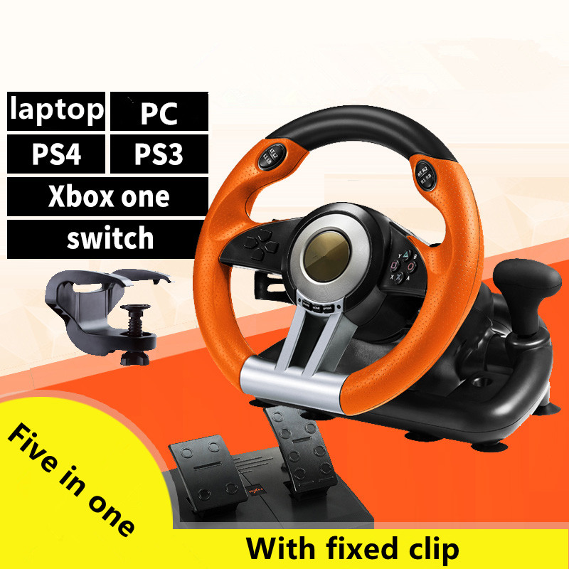 New compatible multi platform game steering wheel simulation driving Ouka 2 PC learning car racing Need for Speed car simulator image