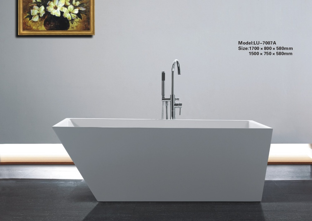 Bathroom fashionable design acrylic used bathtub 0262 LU 7007A on ...