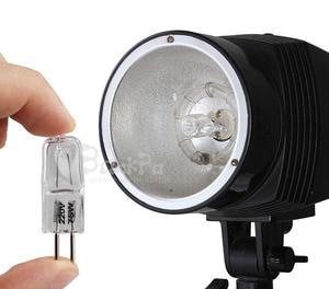 Image 2 - 10 חתיכות 220V 75W סטודיו פלאש צילום אור הנורה צילום עבור Godox 250W 300W 350W צילום סטודיו אבזרים