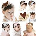 Baby Girls Bowknot Flower Hair Accessories Toddler Hairband Headband Hair Band Headwear