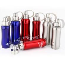 1000ml 800ml 600ml Stainless steel water bottle hermal pot portable for bicycle bottles Travel
