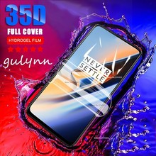 Full Curved Screen Hydrogel Film On The For Oneplus 6 6T 5 5T 7 7Pro 35D Protective Soft One Plus No Glass