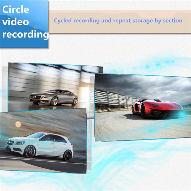 2.4 Inch 720P HD TFT Car DVR Vehicle Camera Lens Video Recorder Dash Cam G-sensor Night Vision Parking Video Recorder 6