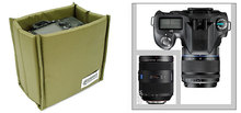 Folding Partition Padded DSLR Camera liner Bag Versipack SLR photo Shockproof Protection lens Case for Cannon Nikon Sony Pentax