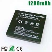 DMW-BCE10 E BP-DC6 CGA-S008 VW-VBJ10 DB-70 Battery for Panasonic DMC-FS3 FS5 FS20 FX30 FX33 FX35 FX36 FX37 FX38 FX55 FX500 FX520