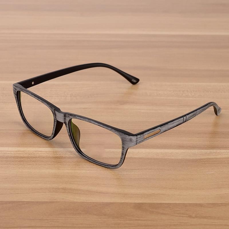 NOSSA Grey Vintage Brýle na brýle Dámské a pánské čočky Brýlové čočky Unisex Retro Brýle na čtení Rám Brýlové obruby