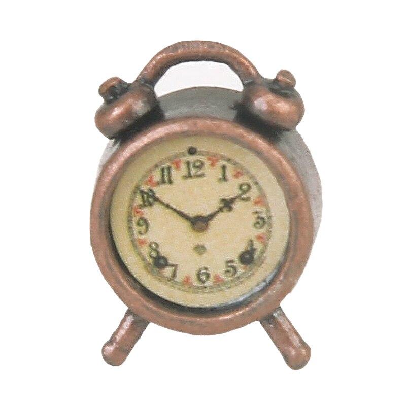 1/12 Dollhouse Miniature Clock For Dollhouse Furniture Accessories