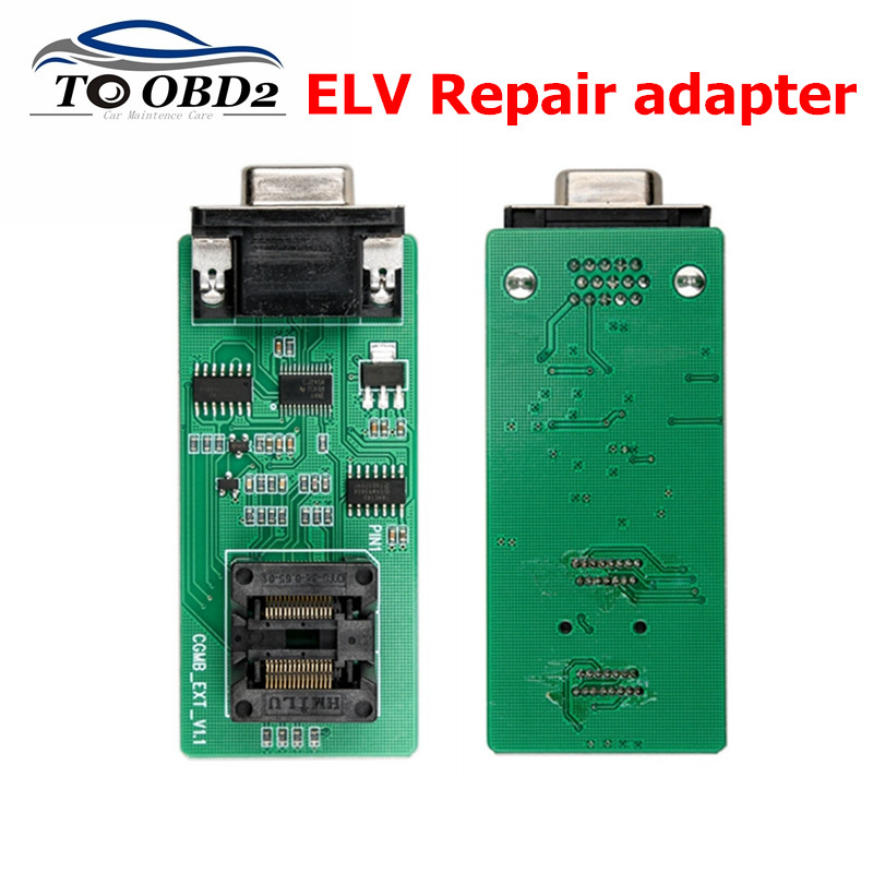 ELV Repair Adapter Works For CGDI MB Repairing Lock Chip For Benz Key Programmer Tool ELV