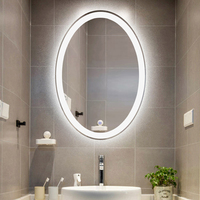 Bathroom Mirror led Lights Hair Beauty Parlor Cosmetic Mirror Wall Lamp Hotel Fitting Room led Mirror Lamp Bedroom Make Up Light