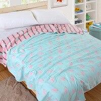 6 Layers Muslin Cotton Baby Blankets Swaddles Newborn Wrap Gauze Crown Children Blankets Infant Bath Towel
