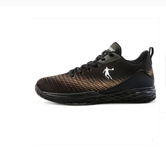 Basketball shoes 2018 autumn low to help breathable basketball shoes wear non-slip shock absorption combat shoes  QIAO DAN