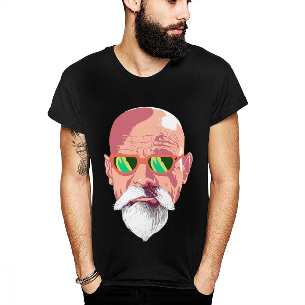 Master Roshi Style Breaking Bad Walter White T Shirt image