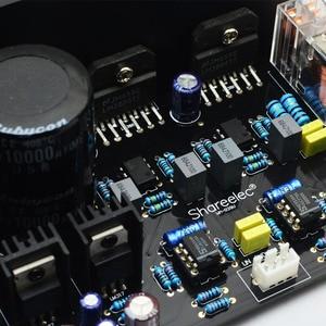 Image 3 - CIRMECH LM3886 Stereo di alta amplificatore di potenza bordo di OP07 DC servo 5534 indipendente amplificatore operazionale Shen Jin PCB KIT
