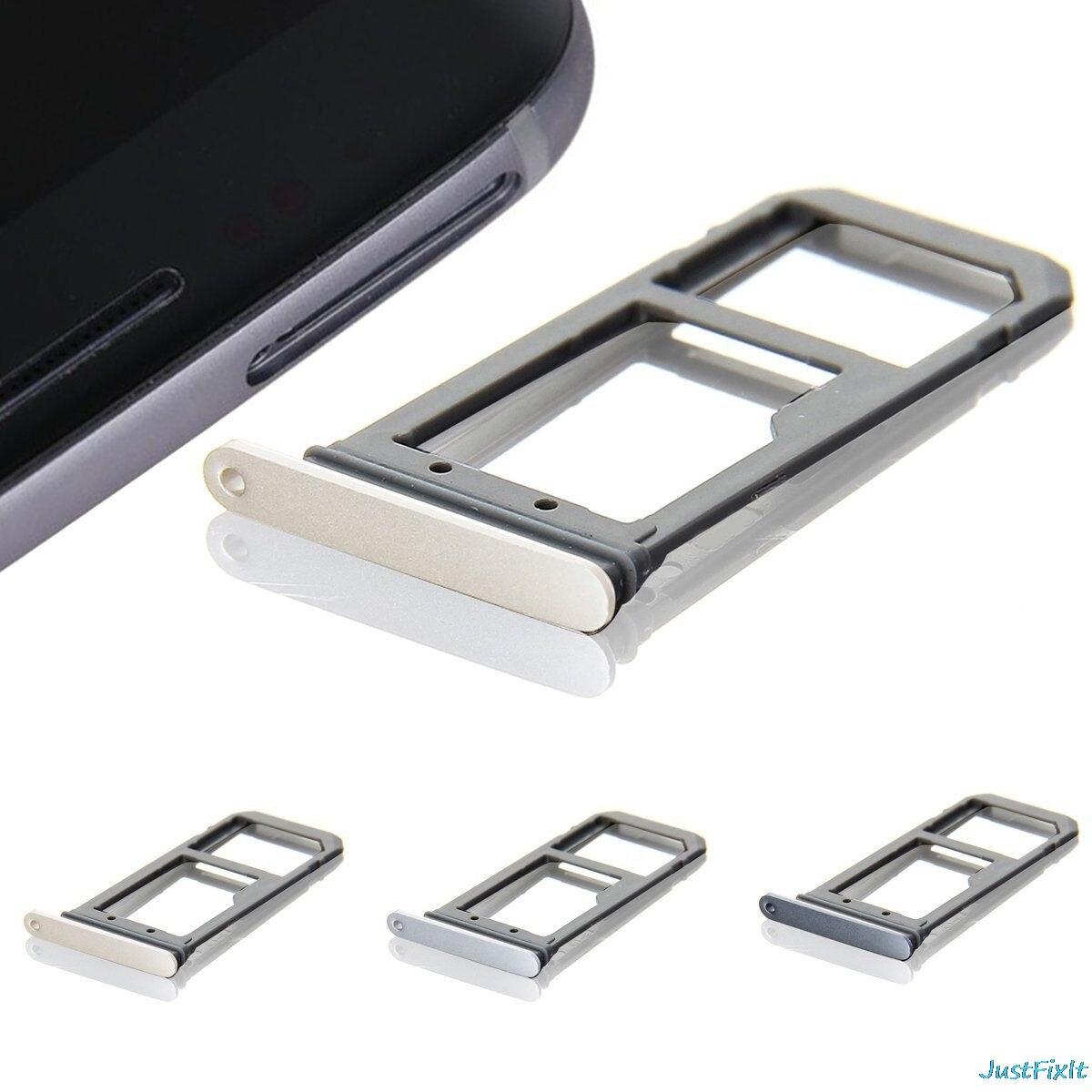 Neue Sim Karte.Neue Sim Karten Behalter Slot Halter Fur Samsung Galaxy S7 Rand G935f G935a Ersatz Fall Reparatur