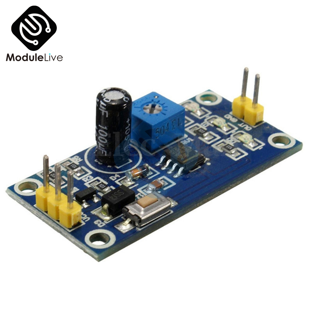 Ne555 Dc 5v 12v Delay Relay Shield Module Board Timer