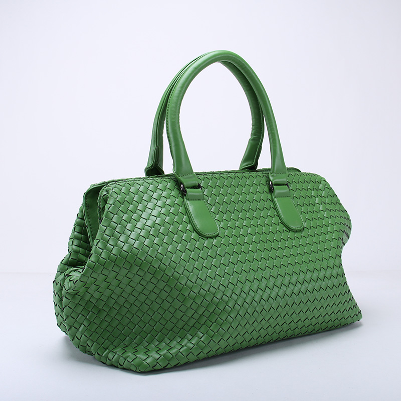 Hand-Weaving Women Bag Handbag Fashion Casual Travel Bag Big Capacity Boarding Bag~16B5 wenger mini vertical boarding bag 1826 66