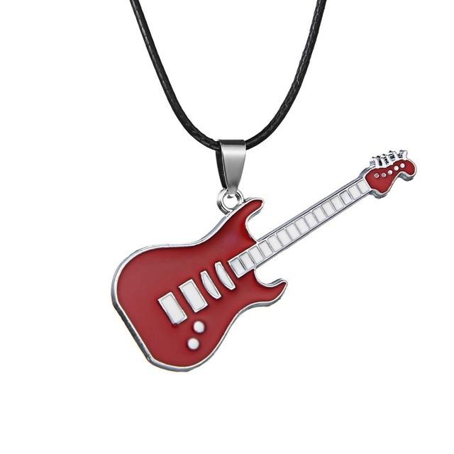Fashion Stainless Steel Pendant Necklaces women men Pop Music Jewelry Concert Mu