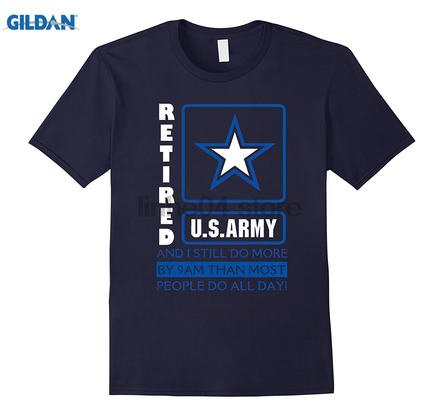 GILDAN U.S ARMY T Shirt Mothers Day Ms. T-shirt Dress female T-shirt
