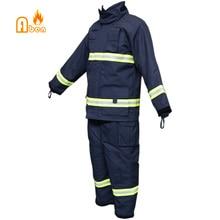 Темно-синий завод прямые продажи NOMEX пожарные костюмы Пожарный Костюм