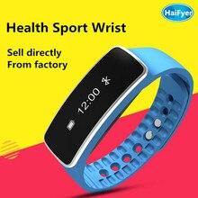 LED Smart Watch Спорта шагомер Smartwatch Запястье IP67 Водонепроницаемый