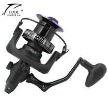 4000-9000 Fishing Reel Spinning for Big Fish Far Throwing Wheel 12+1BB 4.1:1/4.9:1/5.2/1 Saltwater Carp