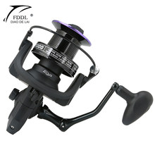 4000-9000 Fishing Reel Spinning Reel for Big Fish Far Throwing Wheel 12+1BB 4.1:1/4.9:1/5.2/1 Saltwater Carp Reel for Fishing(China)