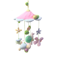 Musical Mobile Baby Crib Rotating Music Box Baby Toys New Multifunctional Baby Rattle Toy Baby Mobile