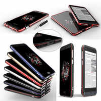 Yotaphone 3 Fall Ultra Thin Metallaluminiumstoß mit Schrauben Rahmen Fall-abdeckung für Yotaphone 3 Yota Telefon 3 Luxus Metallabdeckung