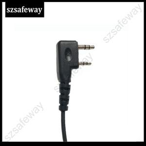 Image 5 - Kask kulaklık 2 Pin PTT kask kulaklık kulaklık için kulaklık için jambon radyo KENWOOD Baofeng UV 5R BF 888S