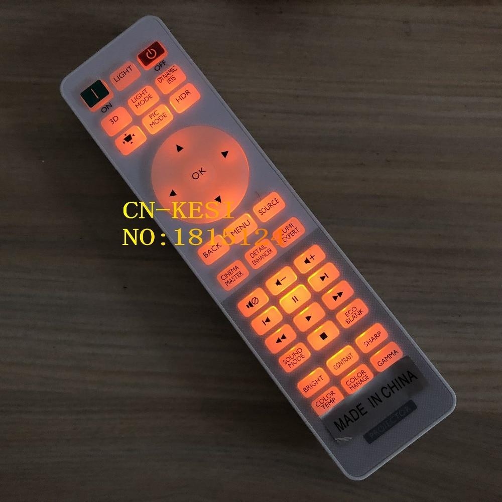 CN-KESI FIT Original véritable RCV015 pour BENQ W1700 W1700S HT2550 TK800 projecteurs télécommande et autres projecteurs