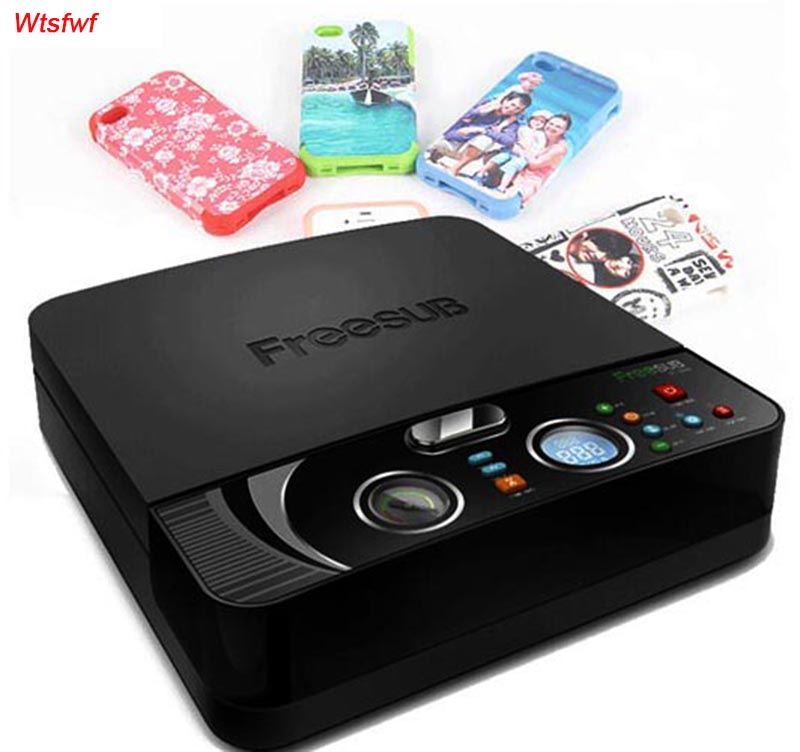 Wtsfwf ST-2030 3D Sublimation Heat <font><b>Transfer</b></font> Printer 3D Vacuum Heat Press Printer Machine for All Phone Cases Except Ipad