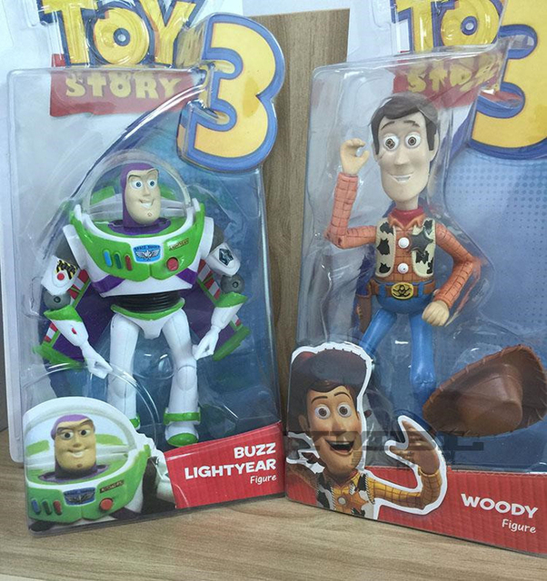 toy story 3 buzz lightyear sheriff woody high quality pvc action