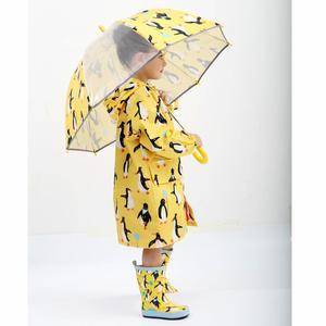 Image 3 - עמיד למים Windproof מעילי גשם לילדים תינוק בני בנות פונצ ו עבור 2 8 שנים