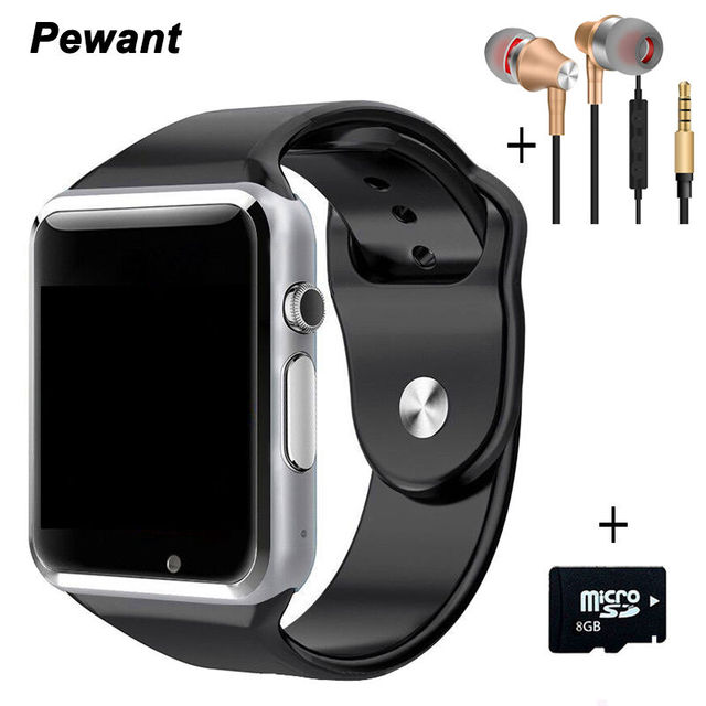 Best Seller Bluetooth Android Smart Watch A1 W8 Smartwatch Passometer Message Sync Smart Clock With Camera SIM TF Card Smartwach