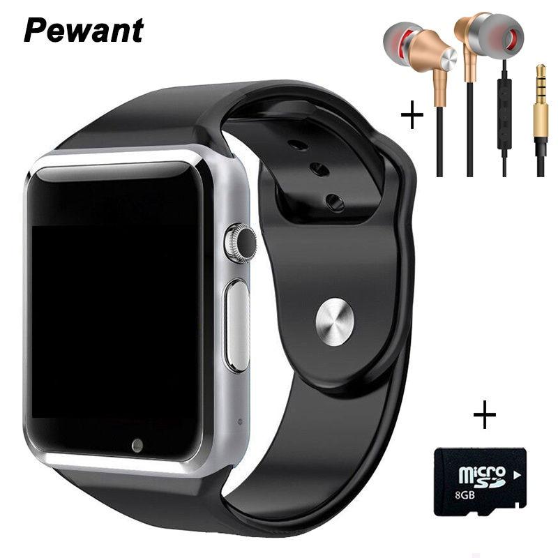 Best seller bluetooth android smart watch a1 w8 messaggio passometer smartwatch sync intelligente orologio con la macchina fotografica sim tf card smartwach