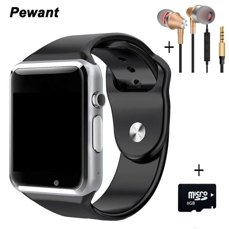 Bestseller Bluetooth Android Smart Uhr A1 W8 Smartwatch Passometer Nachricht Sync Smart Uhr Mit Kamera SIM TF Karte Smartwach