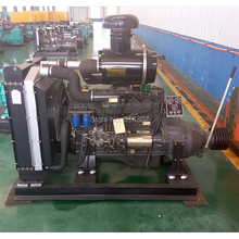 70kw/95Hp weifang fixed power diesel engine R6105AP for Water Pump & Usage with clutch connecting