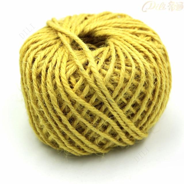 15mm 50 metrorollo de cuerda de camo amarillo color 3 capas de - Cuerda Caamo