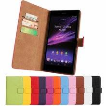 For Sony Xperia Z Ultra Leather Cover Case Book Wallet Flip Shell Phone Accessory Fundas For Xperia Z Ultra C6802 C6806 C6833
