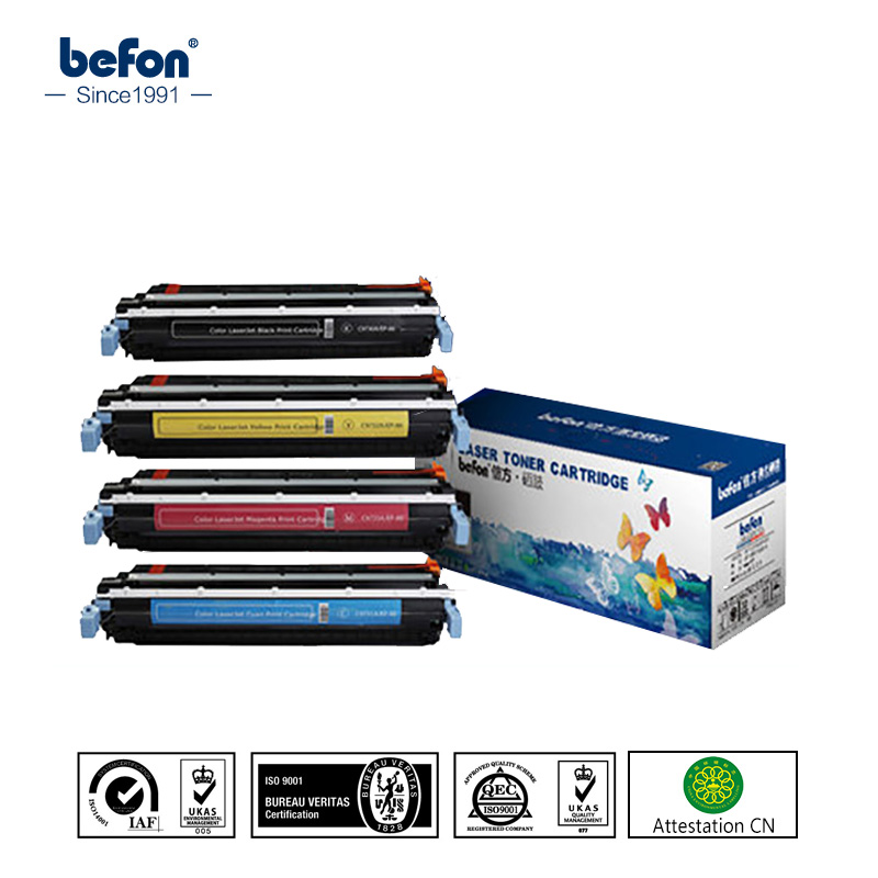 befon C9730A C9731A C9732A C9733A 9730 9731 9732 9733 Color Toner Cartridge Compatible for HP Color LaserJet 5500 5550 Series burett b 4205 nbsa
