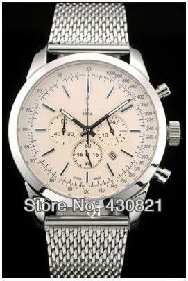 Men's automatic watch precision steel belt watches