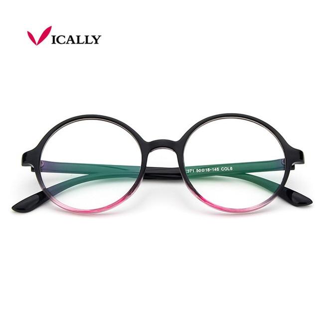 485e321623c25 Marca Designer de moda de luxo Óculos de Armação Harry Potter Sólida Bonito Plástico  Óculos Redondos