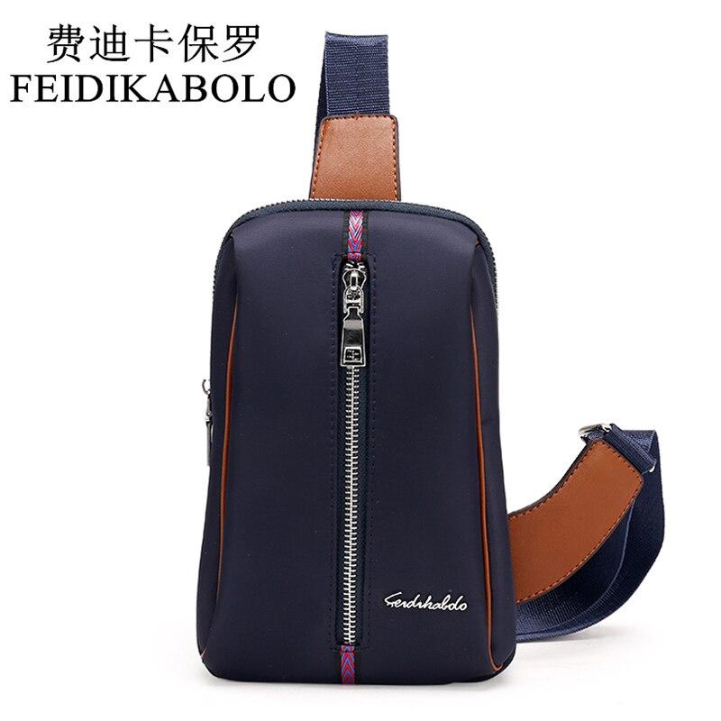 BOLO Chest Pack Men Messenger Bag Famous Brand Single Shoulder Strap Pack Bag Travel Bag Men Fashion Handbags Rucksack Chest Bag